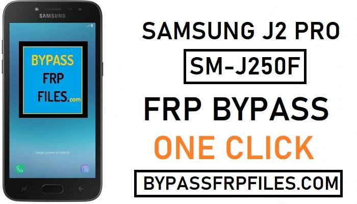 FRP Bypass Samsung J2 Pro